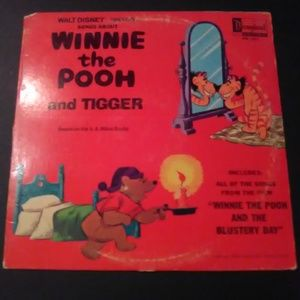 Songs About Winnie The Pooh And Tigger LP Record